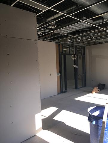construction at our preschool center