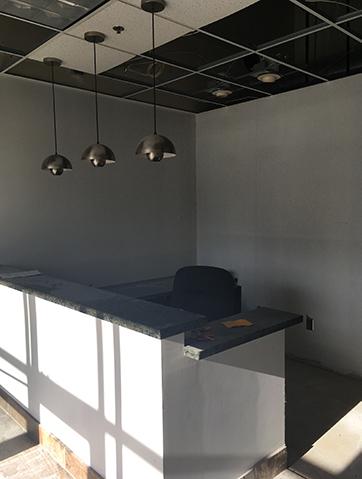 front desk at Chanhassen expansion