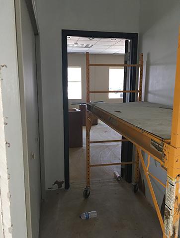 scaffolding at our preschool center
